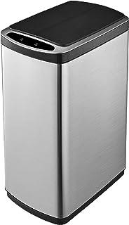 50L Smart Bin Kitchen Rubbish Bin Trash Waste Recycling Bin with Infrared Motion Sensor