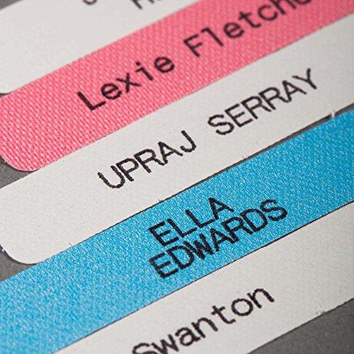 50 x Etichette Termoadesive Personalizzate Per Asilo Nido, Scuola, Casa Di Riposo