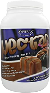Syntrax Nectar Whey Protein Isolate Powder Chocolate Truffle -- 2.12 lbs