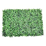 Künstliches Blatt Efeu Kunststoff Garten Bildschirm Rolls Wand Landschaftsbau Gefälschte Turf Pflanze Gartenzaun Künstliche Duftende Rasen (Color : Purple)
