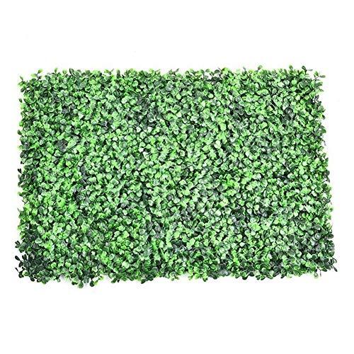 Künstliches Blatt Efeu Kunststoff Garten Bildschirm Rolls Wand Landschaftsbau Gefälschte Turf Pflanze Gartenzaun Künstliche Duftende Rasen Für den Innen- und Außenbereich (Color : Purple)