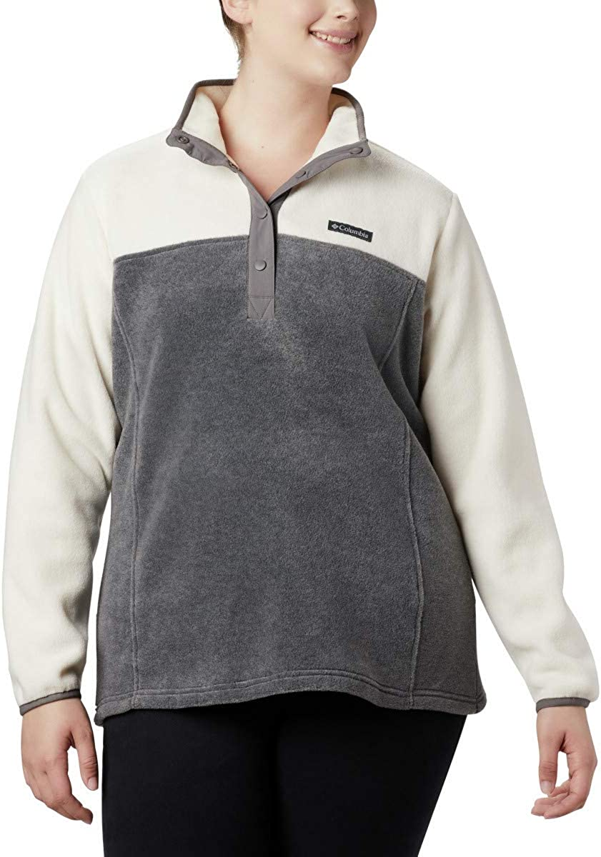 Columbia Pull-Over Femme Gris chiné/craie