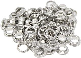 BIG-SAM - Ösen mit Scheiben - 4/5/8/11 oder 14mm in Silber 8mm