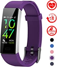 Mgaolo Fitness Tracker,2020 Version IP68 Waterproof Activity Tracker with Blood Pressure Heart Rate Sleep Monitor,10 Sport Modes Health Fit Smart Watch with Pedometer for Men Women