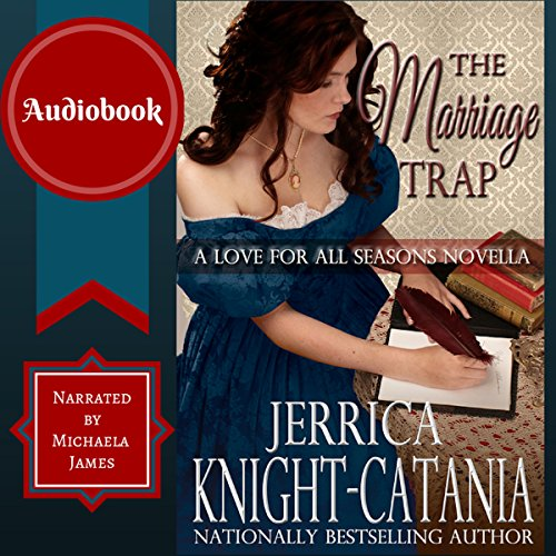 The Marriage Trap audiobook cover art