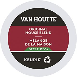 Van Houtte Original House Blend Decaf Recyclable K-Cup Coffee Pods, 12 Count For Keurig Coffee Makers