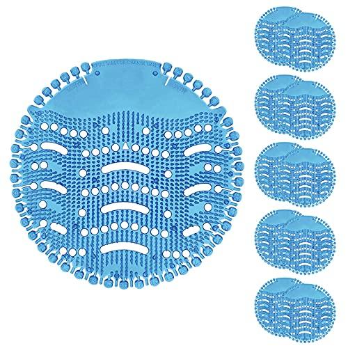TZL Urinalsieb mit Duft 10 Stk, Universal Urinal Einsatz Mit Spritzschutz,Pissoirsiebfür jedes Pissoir und Urinal,Lufterfrischer