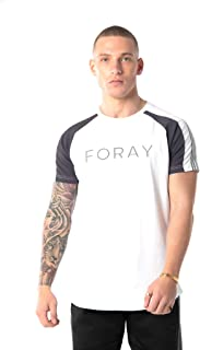 Foray Marlon Tee Black White Red T-shirt