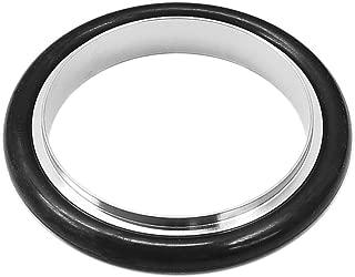 Centering Ring KF-40 Vacuum Fittings, ISO-KF Flange Size NW-40, Aluminum & Buna O-Ring (lot of 1pcs)