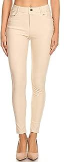 Women's High Waisted Super Stretchy Skinny Denim Jegging Pants Pockets