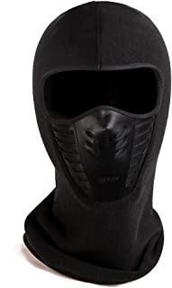 Zerdocean Winter Fleece Warm Full Face Cover Anti-dust Balaclava Windproof Ski Mask