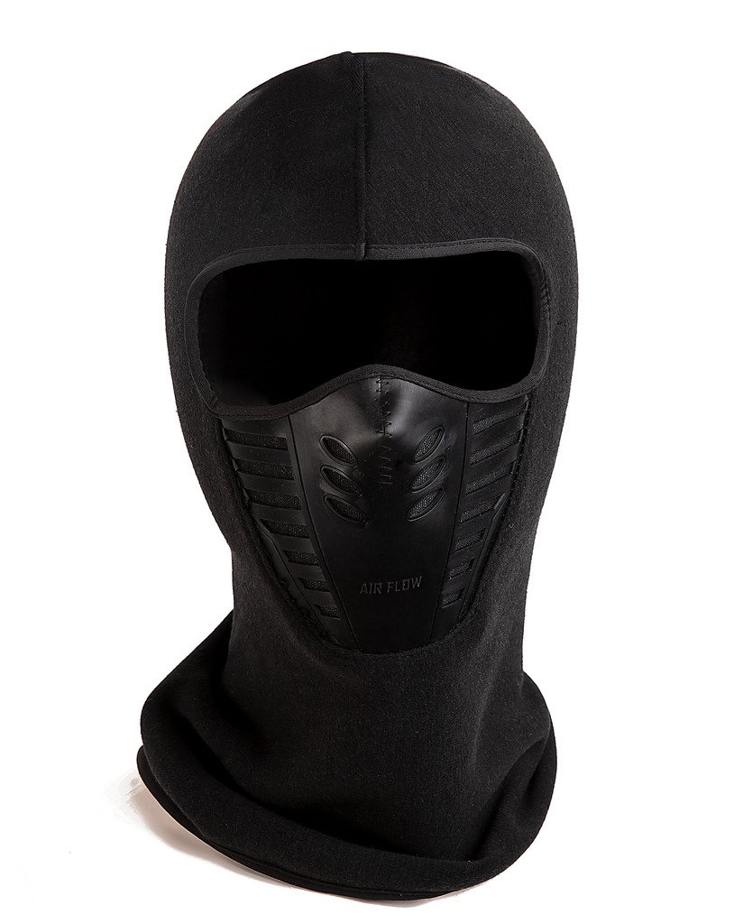 Cascade Mountain Tech Merino Wool Beanies Balaclava Cold Weather Windproof Ski Mask