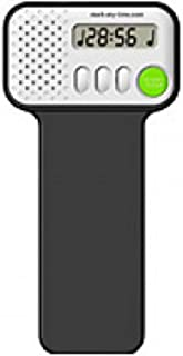Mark-My-Time Black Digital Metronome, Digital Reading Timer, and Bookmark