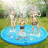 ASWT -Splash Pad, 68 Pulgadas No More Burst Sprinkle, Splash Play Mat para niños, niñas, Verano, al Aire Libre, rociadores para Fiestas, Juguetes acuáticos, rociador para Piscina,10m Water Pipe