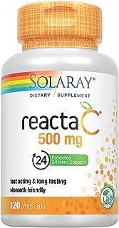 Solaray Reacta-C with Bioflav Capsules, 500 mg | 120 Count