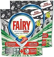 Fairy Platinum Plus 150 Yıkama Bulaşık Makinesi Deterjanı Kapsülü Özel Seri (75X2)