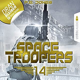 Faktor X     Space Troopers 14              Autor:                                                                                                                                 P. E. Jones                               Sprecher:                                                                                                                                 Uve Teschner                      Spieldauer: 2 Std. und 43 Min.     315 Bewertungen     Gesamt 4,4