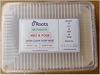 Roots Botanica Ultra Clear Melt and Pour Soap Base