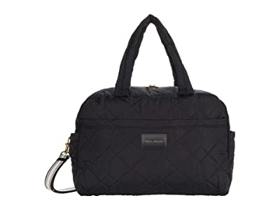 Marc Jacobs Quilted Nylon Large Bag (Black) Duffel Bags