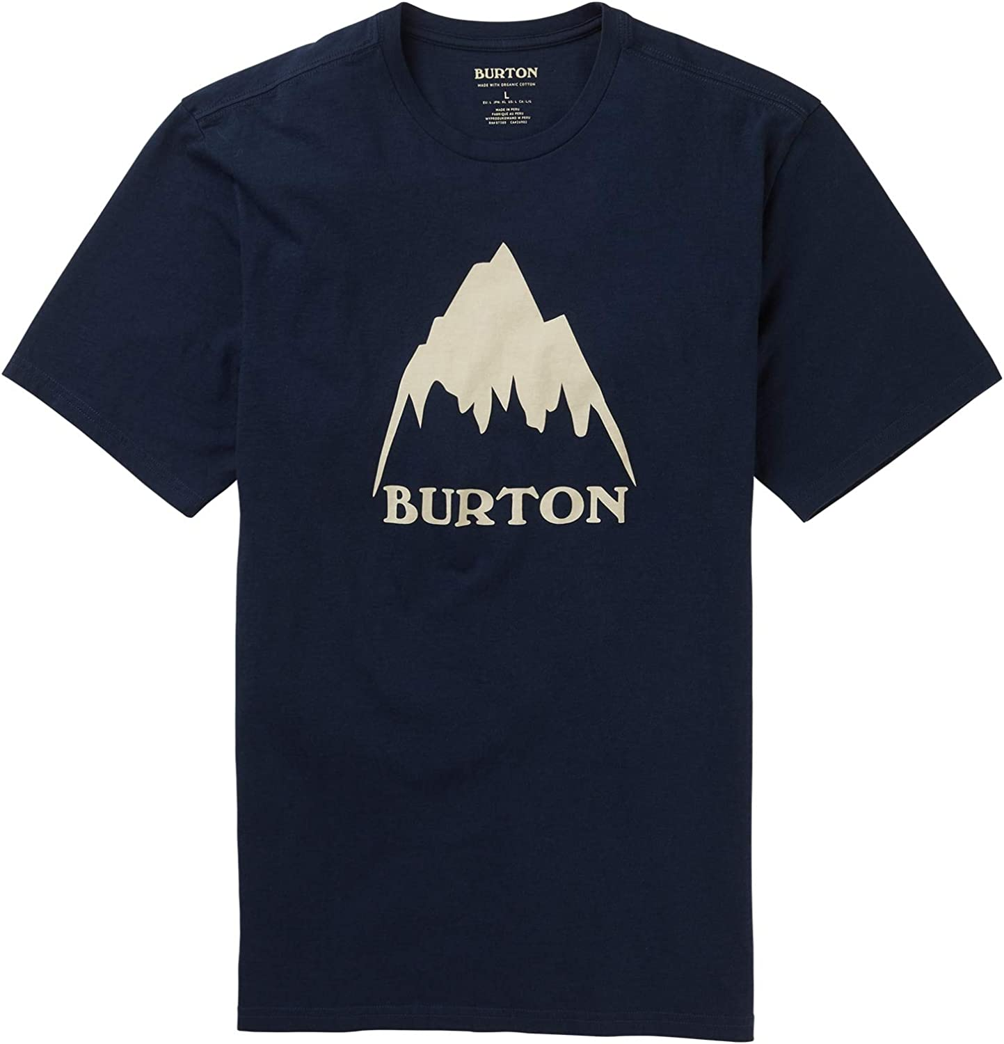 Burton Classic Mountain High T-Shirt 55% OFF Mens Easy-to-use