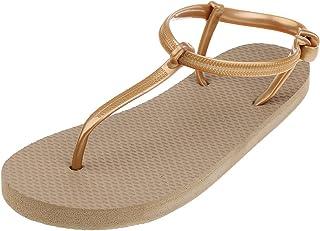 MagiDeal Women's Girls Summer Slippers Flip Flops Beach Sandals Ladies Flat Thong Shoes