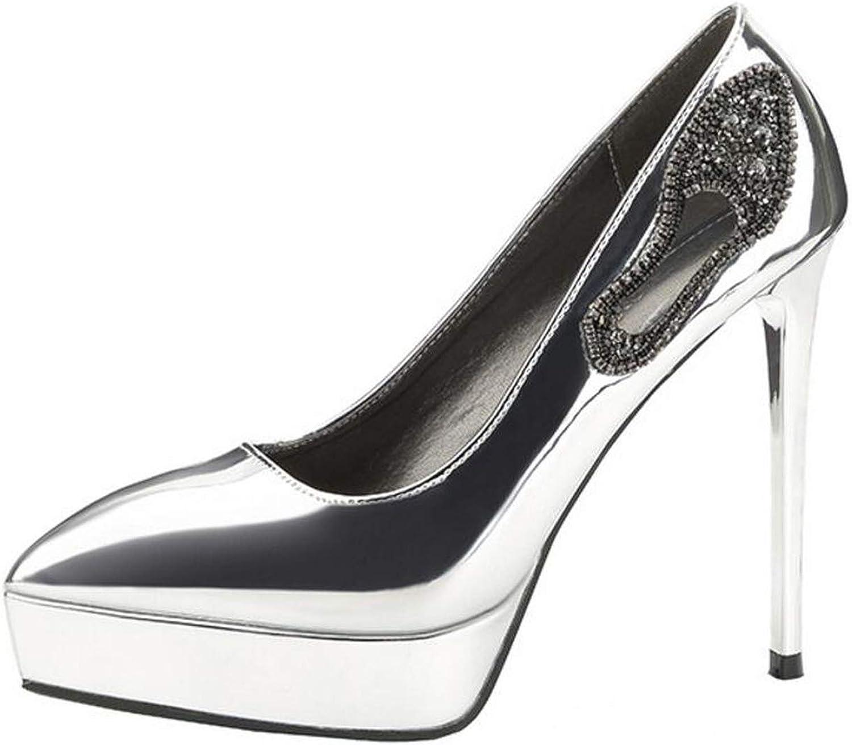 Sexy Women High Heels Platform Pumps Gladiator High Heels Female Wedding Party Heels Sequined shoes