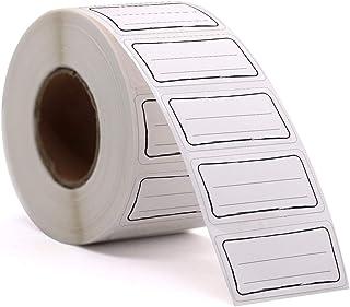 Etiketten auf Rolle Selbstklebend Haushaltsetiketten Aufkleber 80mm x 40mm