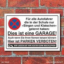Suchergebnis Auf Für Aluminium Schild Garage