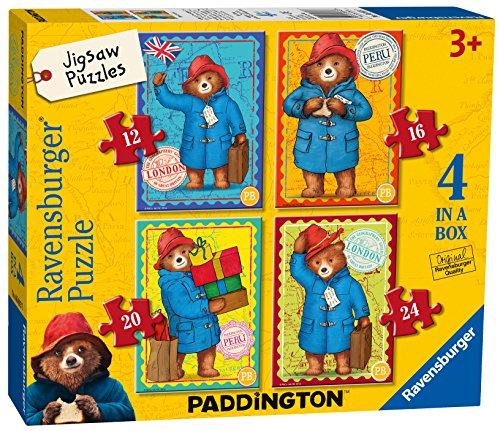 Ravensburger – Caja de Puzzles del Oso Paddington, 4 en 1 de 12, 16, 20 y 24 Piezas (6893)