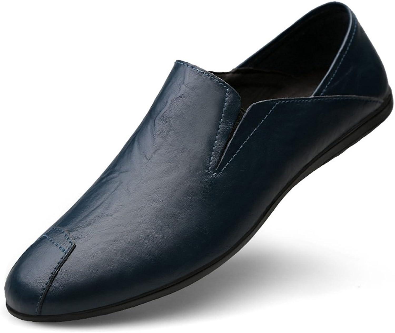 Männer Schuhe, Herrenschuhe Leder Sommer Herbst Komfort Loafers & Slip-Ons Fahr Schuhe Casual Formelle Business Arbeit Schwarz, Rot, Braun, Blau,Schuhe B07HZ98SNZ  Neue Sorten werden eingeführt