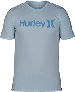 Hurley Mens One and Only Push Through Tee