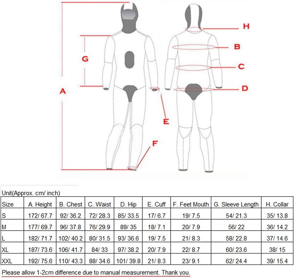 Jili Online S/M/L/XL/XXL Mens Camouflagfe Full Body 2-Piece Set 3mm Neoprene Diving Wetsuit
