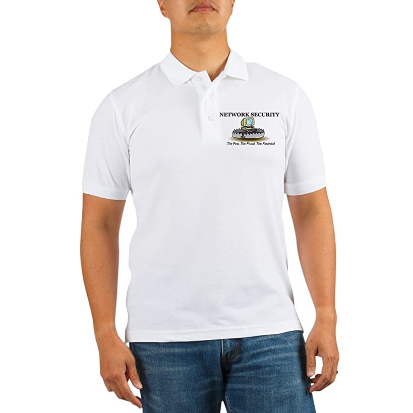 CafePress - Network Security - Golf Shirt, Pique Knit Golf Polo