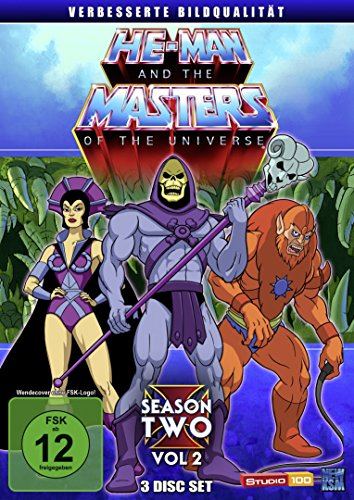 He-Man and the Masters of the Universe - Season 2/Vol. 2 [3 DVDs] [Alemania]