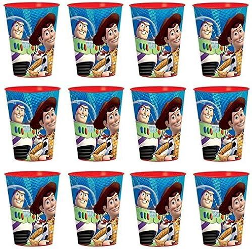 Entrega directa y rápida de fábrica Disney Toy Story Reusable Cups (12x)  Birthday Party Party Party Supplies Plastic Favors by Disney  directo de fábrica
