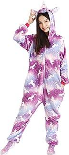 Niños Unisexo Unicornio Onesies Kigurumi Pijamas, Encantadores Sleepsuit Ropa De Dormir De Dibujos Animados De Cosplay Mamelucos Pijama