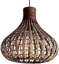 Boutique Decorative Lighting/Light Fixtures Wicker Light Fixtures Chandelier Dinging Room Ceiling Lamp Farmhouse Pendant L...