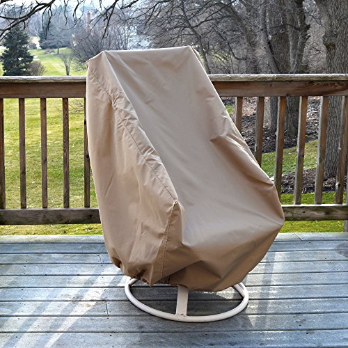 Island Umbrella NU5622 All-Weather Protective Cover for High Back Chair