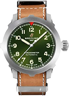 Green Dial Navitimer Super 8 B20 Automatic 46 COSC Certified