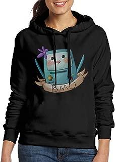Adventure BMO Hoodie Sweater For WomenCamping Black