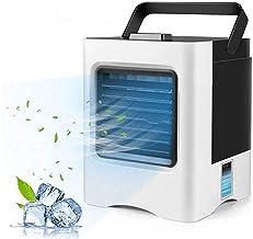 ac unit draagbaar, draagbare airconditioner, draagbare luchtkoeler, kleine desktopventilator 3 graden super stille persoon...