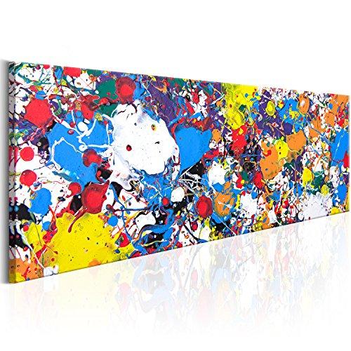 murando Cuadro Acústico Abstracto 120x40 cm XXL Impresión Artística...