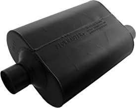 Flowmaster 952547 Super 40 Muffler - 2.50 Center IN / 2.50 Offset OUT - Aggressive Sound
