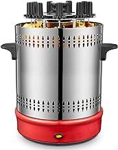 AosyGFR Barbacoa Casera Sin Humo Máquina Rotativa Automática Cordero Pincho Barril Fan Multifuncional