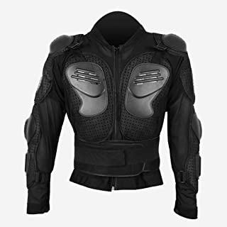 FidgetGear Safety Anti-Fall Motorcycle Racing Suit Protective Armor Full Jacket Bulletproof Shirt Protective Gear for Roller Skating Riding Skiing Outdoor Supplies