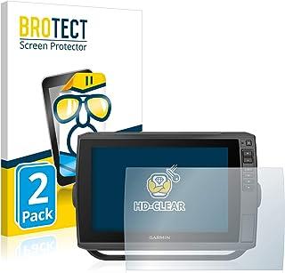 BROTECT 2x Schermbeschermer compatibel met Garmin echoMAP Ultra 102sv Screen protector transparant