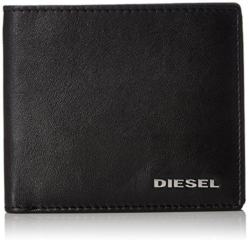 Diesel Herren Fresh Starter HIRESH S - Wallet Geldbörse, schwarz, Einheitsgröße