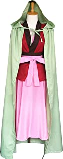 Cosnew Anime Yona Suit + Earrings Outfits Uniform Cosplay Costume-Made