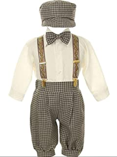 ab8d52778b6b iGirldress Vintage Dress Suit-Tuxedo Knickers Outfit Set Baby Boys & Toddler