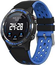 KYLN Bluetooth Call Watch Relojes Inteligentes con GPS Altímetro Barómetro Brújula Ritmo cardíaco Rastreador de Ejercicios Smartwatch Android iOS